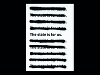 The state is for state | Silkscreen