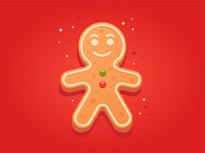 Gingerbread Man. Adobe Illustrator tutorial 2021 new year christmas cookie gingerbread gingerbread man ginger illustration holiday design vector