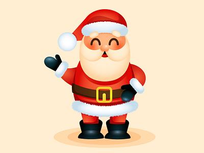 Santa Claus. Adobe Illustrator tutorial. adobe illustrator santa claus illustration christmas holiday design vector