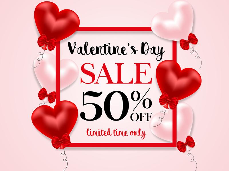 valentine sale by elena baryshkina dribbble