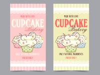Bakery flyers