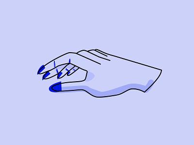 [REDO] Inktober 2018: Roasted Hand illustration flat monochrome hands inktober inktober 2018