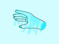 Inktober 2018: Drooling Hand