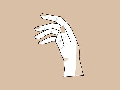 Inktober 2018: Flowing Hand hands lettering inktober 2018 inktober illustration hands
