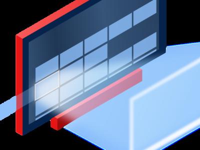 10 Foot User Experience graphic design ui design ux design isometric tv app digital agency vector illustration