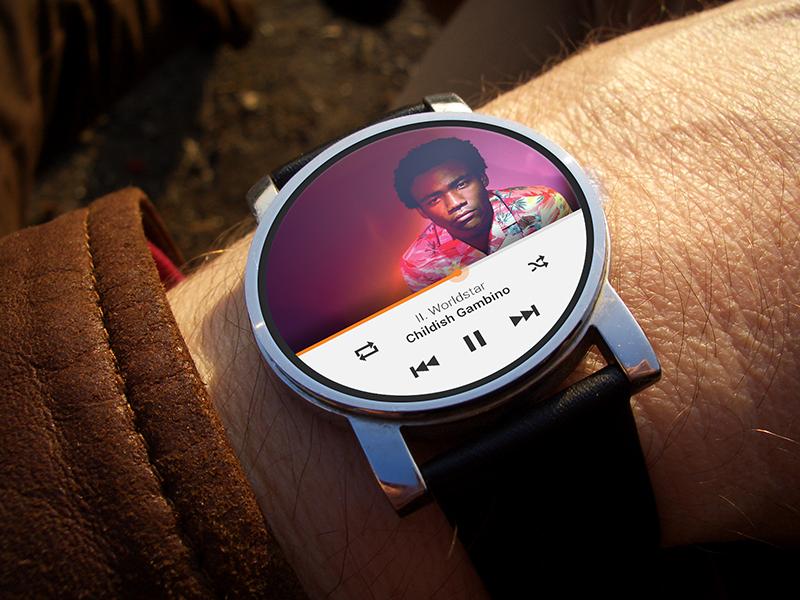 Google Play music music google google play mobile smart watch mobile ui simple