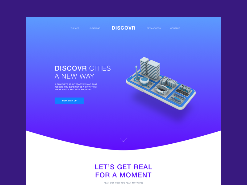 Landing page Example (WIP) by Joseph A Barrientos on Dribbble