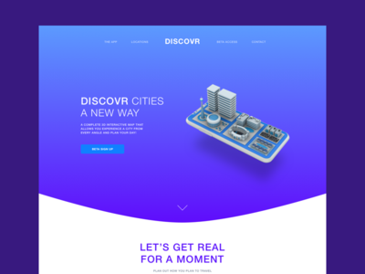 Landing page Example (WIP)