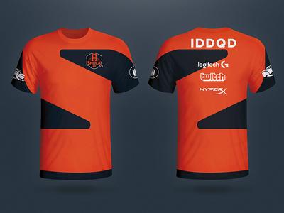 San Francisco Shock e-sports jersey