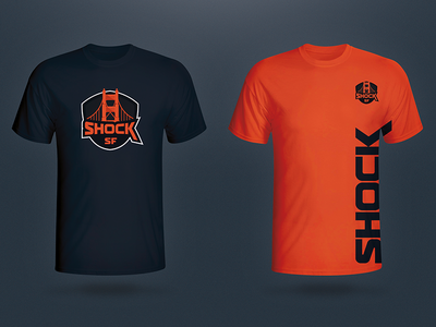 San Francisco Shock e-sports merch goldengatebridge tshirt san francisco sf branding jersey overwatch e-sports