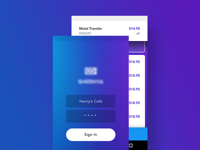 Mobile Payment WIP wireframe app pos cash charge payment mobile ux visual ui