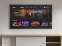 Telly - The True TV App light mode dark mode minimal app tv app uiux visual ui tv