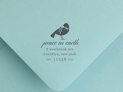holiday stamp dove olive branch stamp address holiday