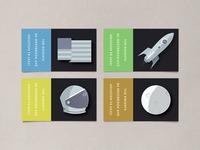 space race address labels