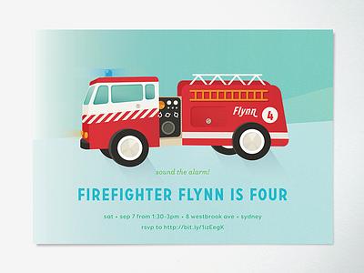 toy fire engine fire engine child birthday