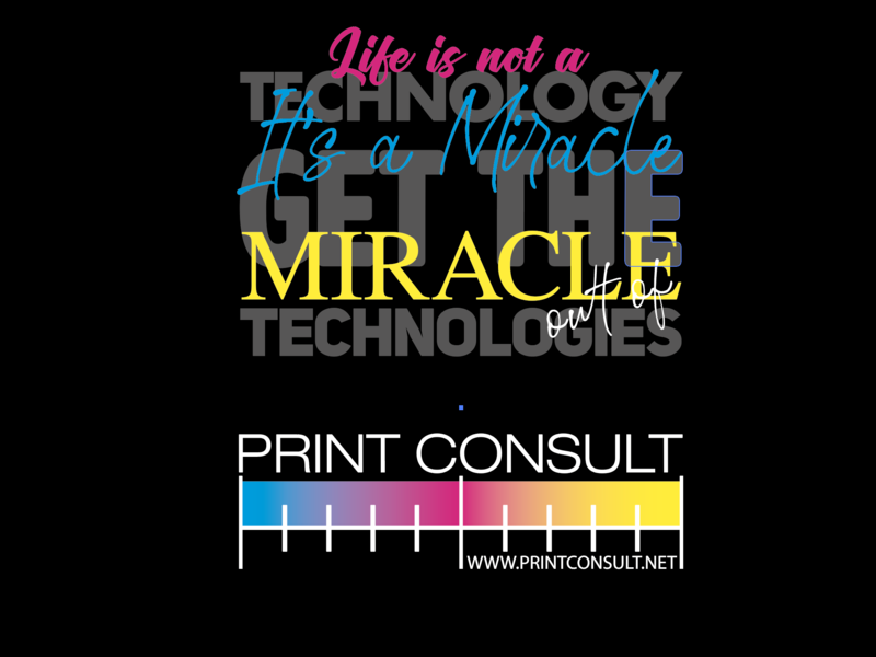 Logo design Print Consult consultant consult tehnology colorful design logo prepress polygraph print
