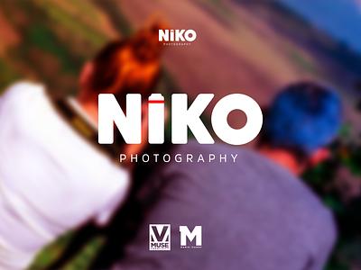 Niko Photograph Logo design punk branding design logo photograhy photoshop photograph photo