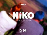 Niko Photograph Logo design