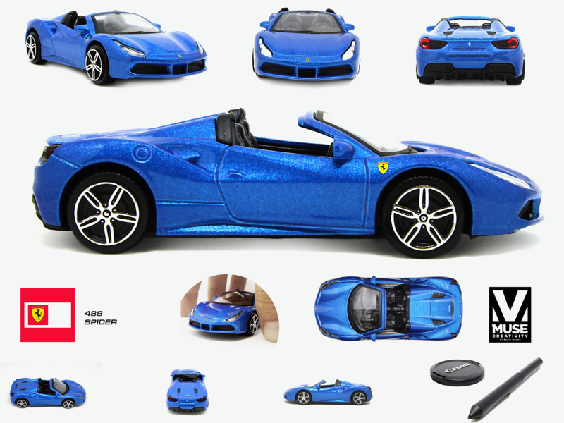 Photography Editing Ferrari Toy Car By Mario G Ivanov Dribbble