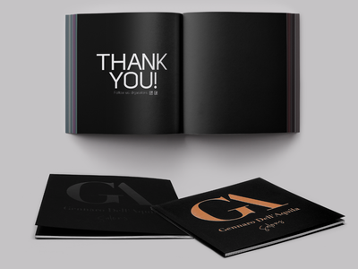 GA Salon Catalogue prepres pre-press design catalogue print