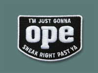 Ope Midwestern Patches