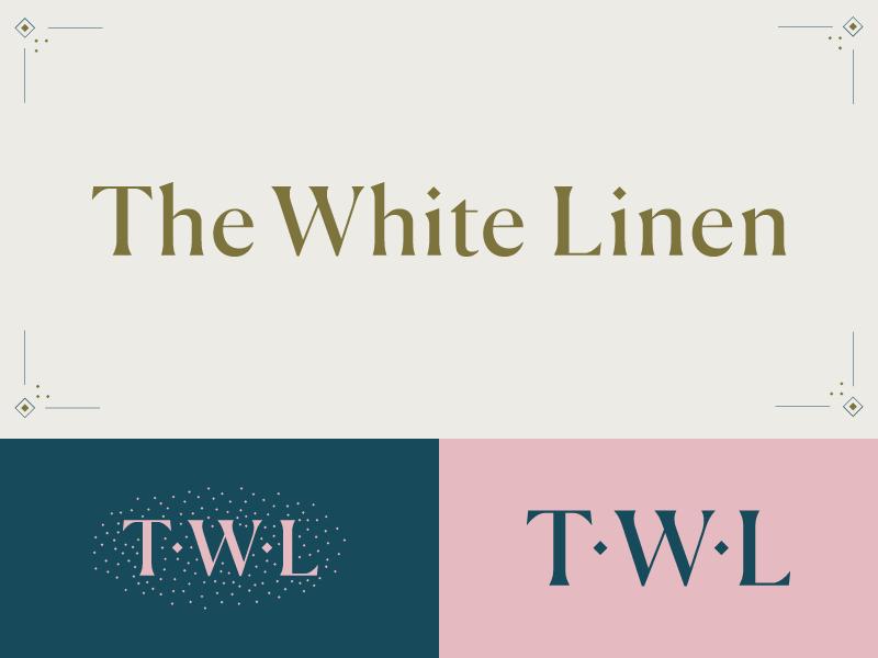Thewhitelinen branding