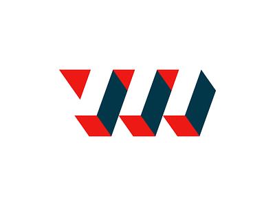 M logo letter m 3d typography modern serif kansas design icon branding logo