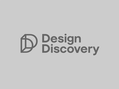 Design Discovery lines construction illusion optical 3d space discovery interior modern typography rebrand brand kansas design icon branding logo