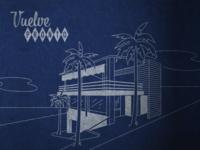 El Güero Illustration vector san diego tijuana brand identity restaurant logo illustration
