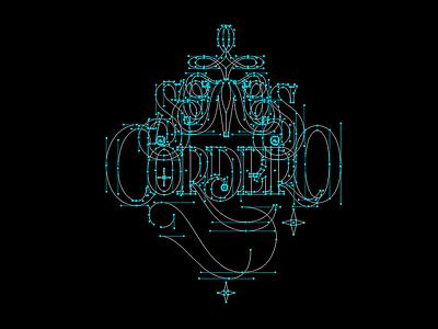 Nodes_ SomosCordero vector lettering nodes