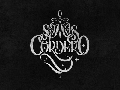Lettering_ SomosCordero vector graphicdesign lettering