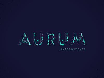 Lettering_ Aurum graphicdesign illustration vector lettering