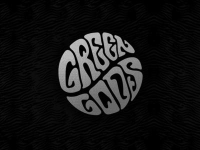 Lettering_ GreenGods design brand vector graphicdesign lettering