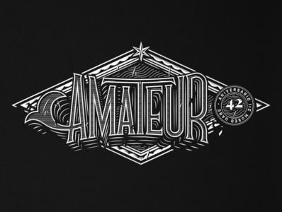 Amateur Lettering san diego illustration texture lettering