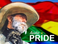 Graphic for Austin Gay Pride