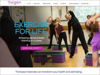 Exercise For Life Home Page
