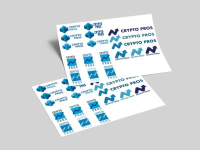 Crypto Pros Logo Sheet