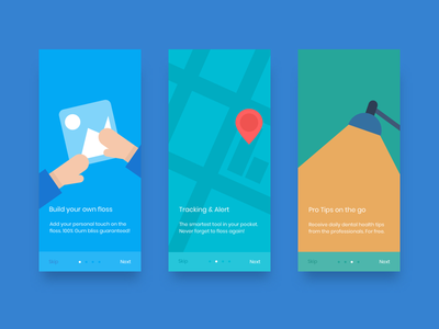 Onboarding screens onboarding sketch screens ui tutorial
