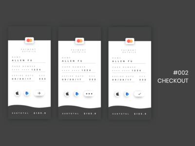 DailyUI - 002 - Checkout checkout screens ui signup dailyui