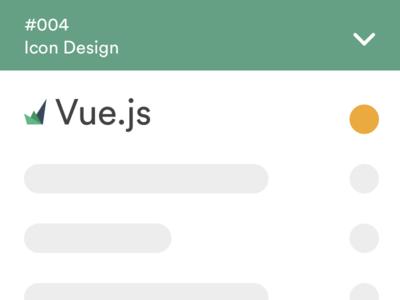 DailyUI - 005 - Icon product brand design vue icon dailyui