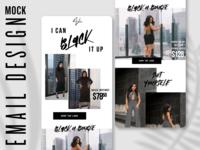 Nichole Lynel — Email Mock Design
