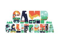 Camp California Mural Design