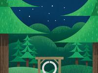 Piomingo Winter Camp Poster