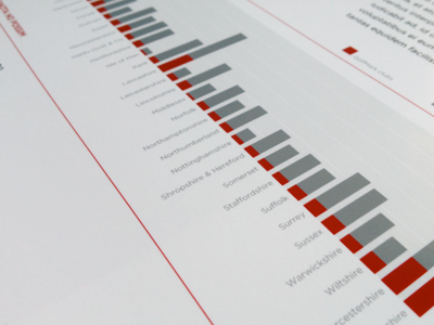 Annual Report chart graph data diagram design print annual report
