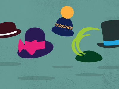 Hats hats illustration