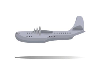 Saunders Roe Seaplane illustration aviation