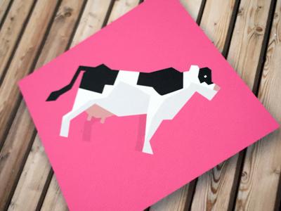 Cow illustration illustration cow icon