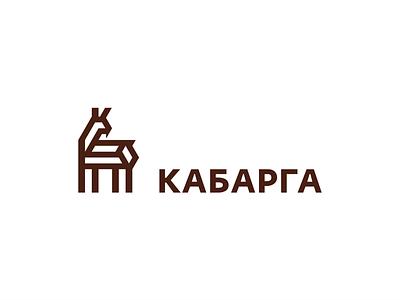 Кабарга логотип logo олень кабарга deer musk