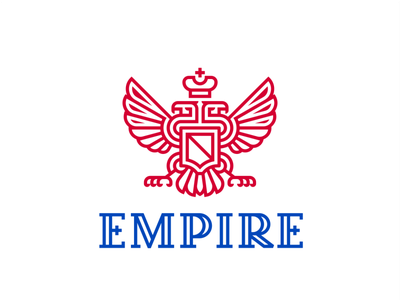 Empire freedom logo protection sovereignty spear shield russia federation russian crown wings eagle double-headed arms coat empire