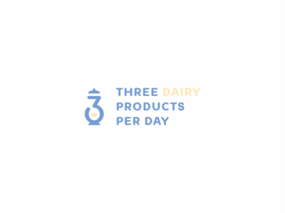 Three Dairy Products Per Day